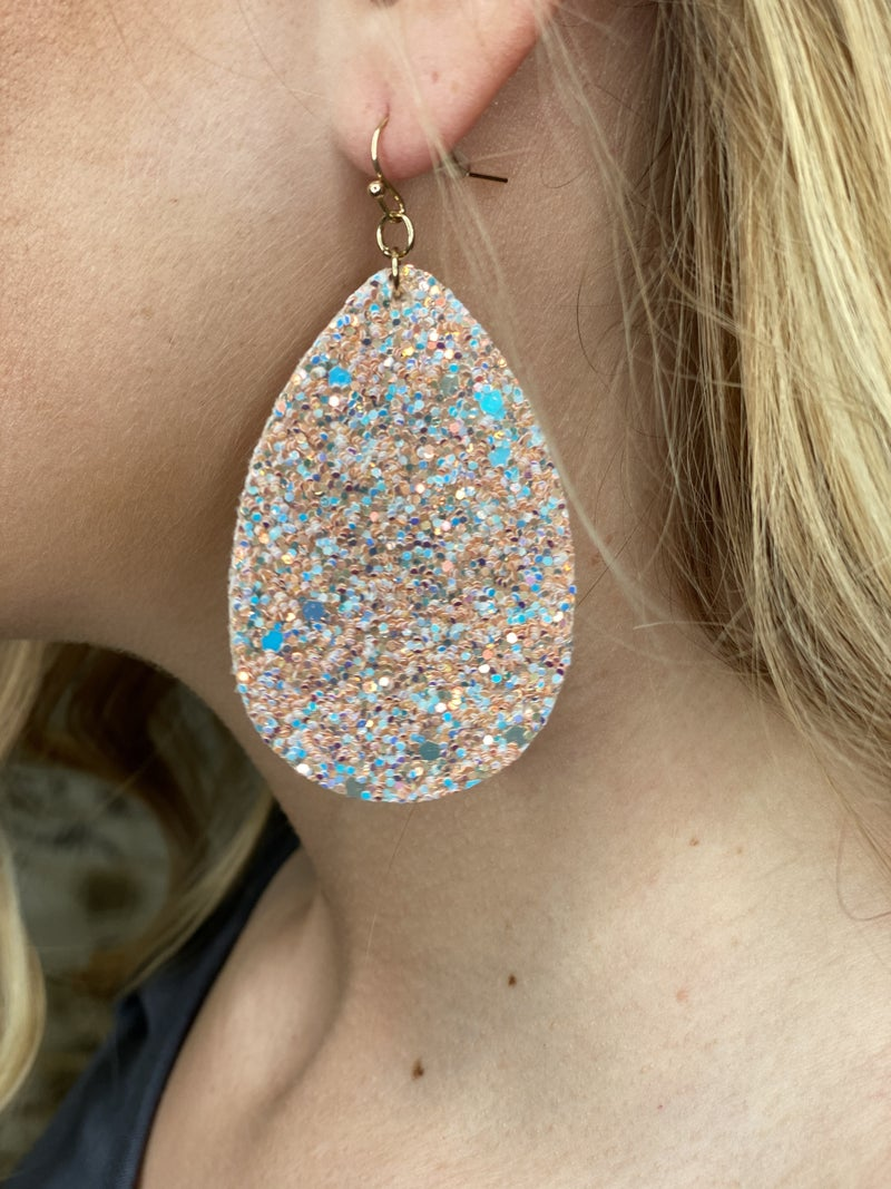 Get your Shine On Blush Earrings