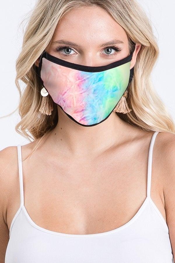 kids Tie Dye Cloth Mask *Final Sale*