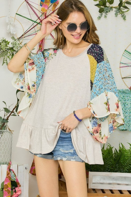 Floral Finds Top
