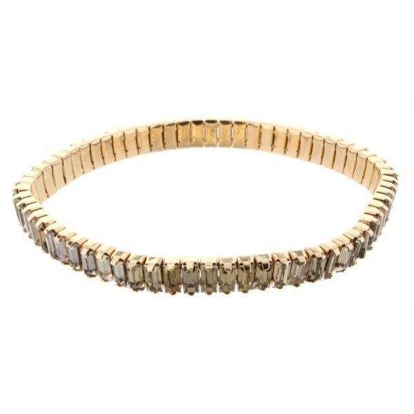 Neutral Rhinestone Bracelet