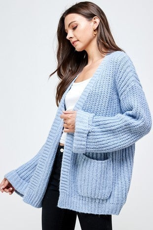 Blue is your Color Cardigan