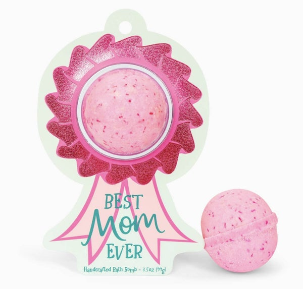 Best Mom Ever Award Ribbon Clamshell Bath Bomb