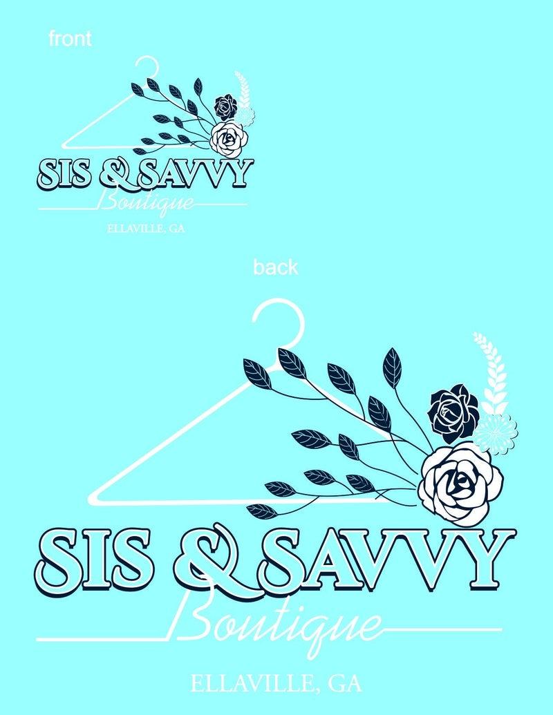 Sis & Savvy Comfort Color Pocket Tee