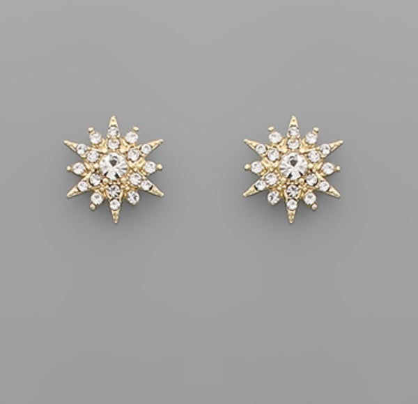 Burst of Sparkles Studs