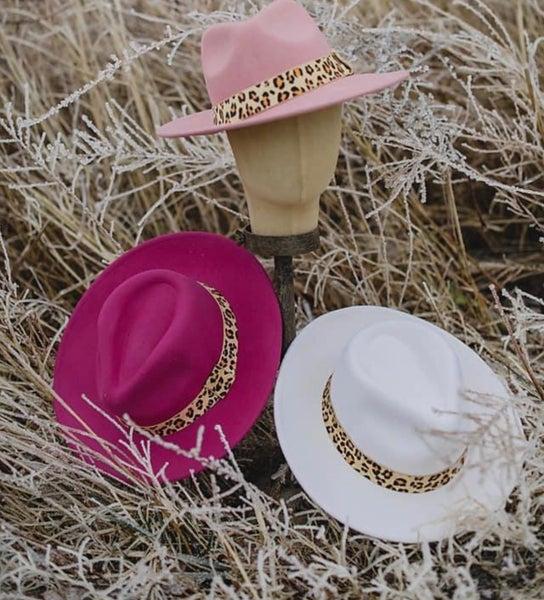 Spring Genuine Wool Hats - 3 Colors!