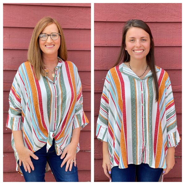 Striped To Perfection Top