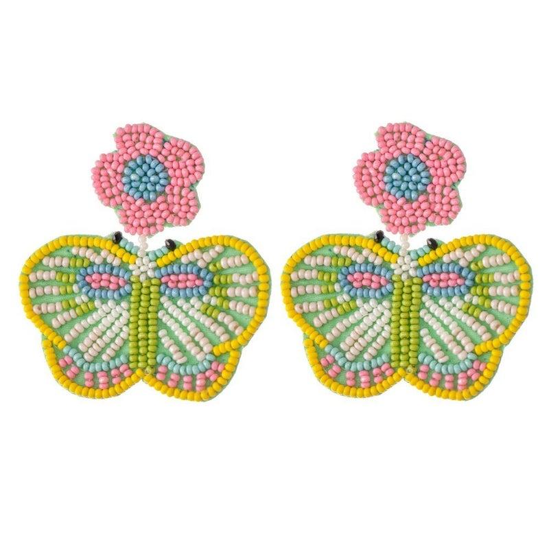 Fly High Butterfly Earrings