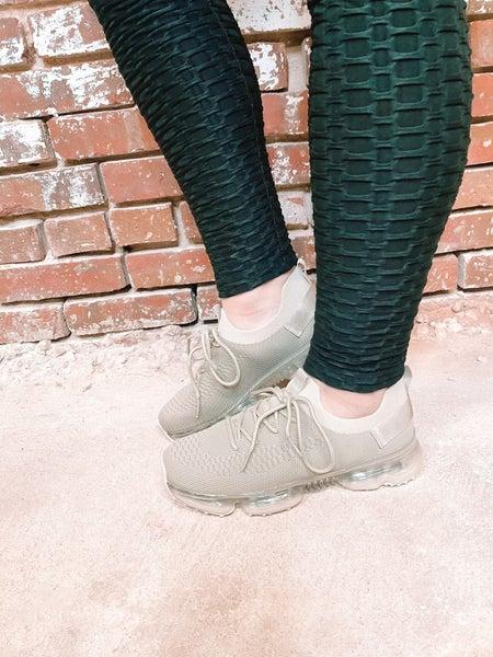 The Josie Sneaker- Nude