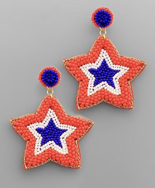 American Star Earrings