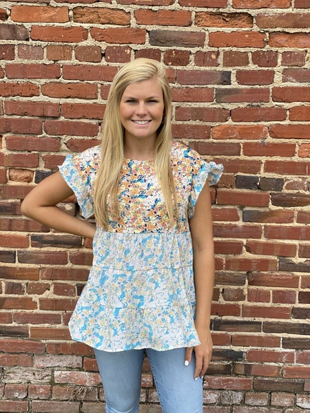 Flowers For Days Top