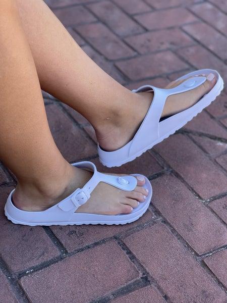 Corkys Jet Ski Sandals - White