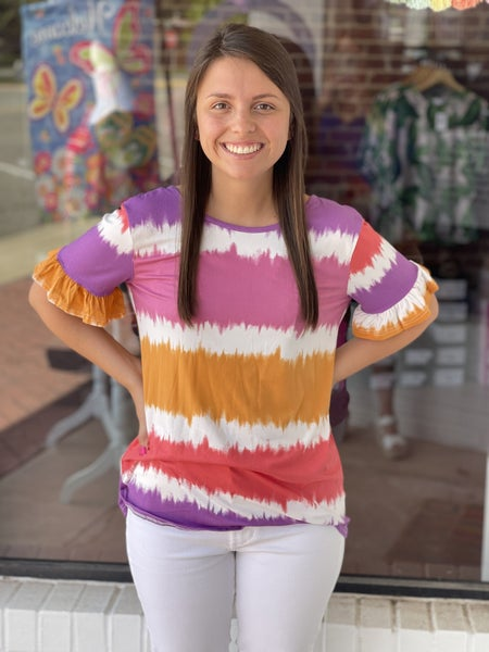 Timely Tie Dye Top