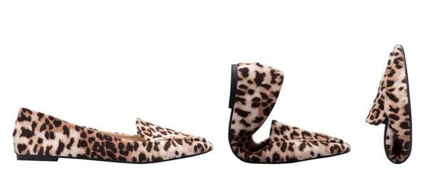 Rollasole Leopard Flats *Final Sale*
