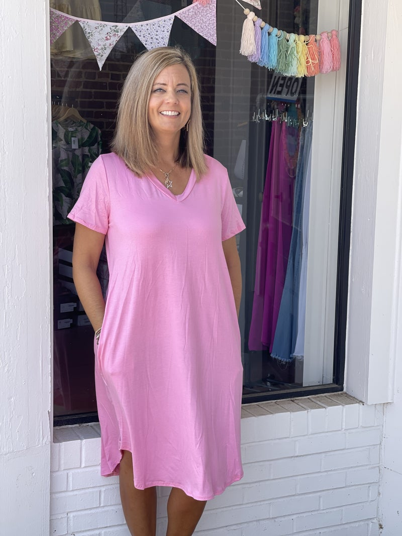 You Found Me Dress *Pink*