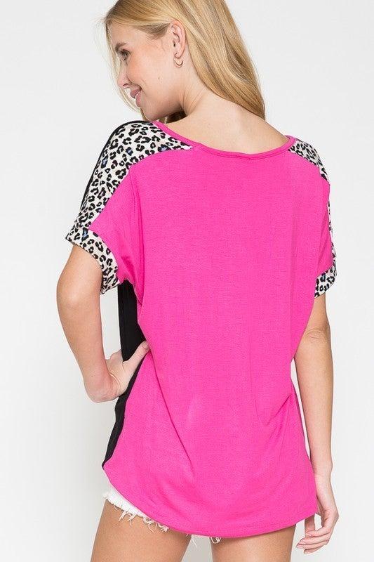 Peek A Boo Leopard Top