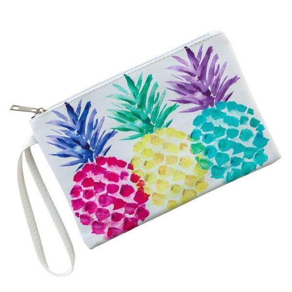 Pineapple Parade Wristlet