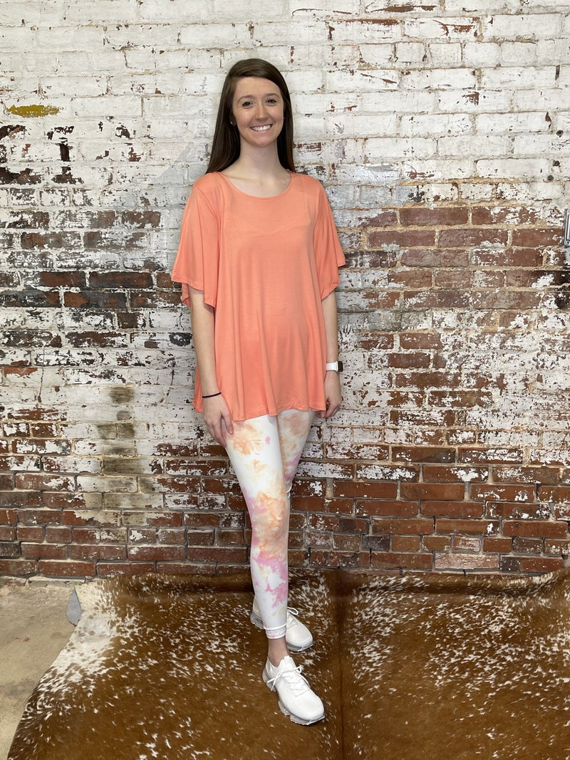 Groovy Tie Dye Leggings/Workout Wear