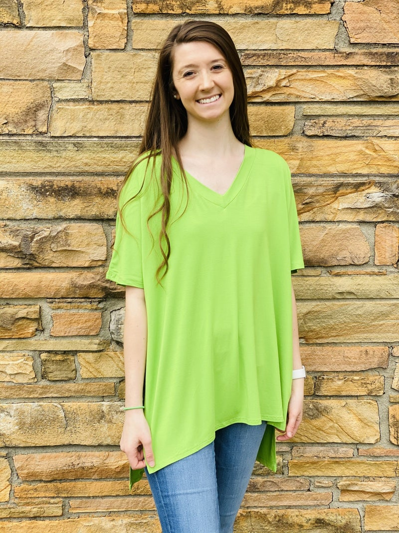 Savvy Deal! Greener Days Top *Final Sale*