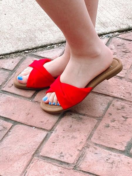 Corkys Lemonade Sandals - Red
