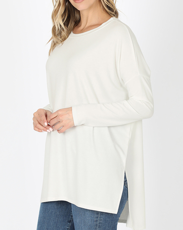 Savvy Deal! The BEST Basic Top - 2 Colors! *Final Sale*