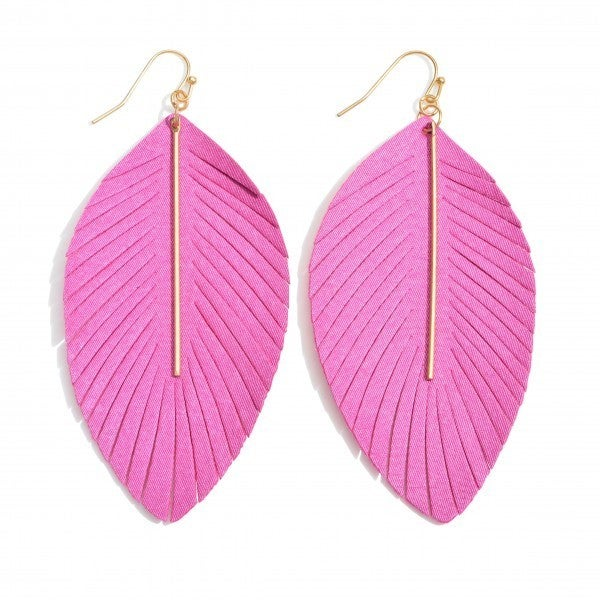 See You Feather Earrings