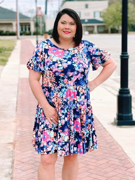 Watch Me Bloom Dress