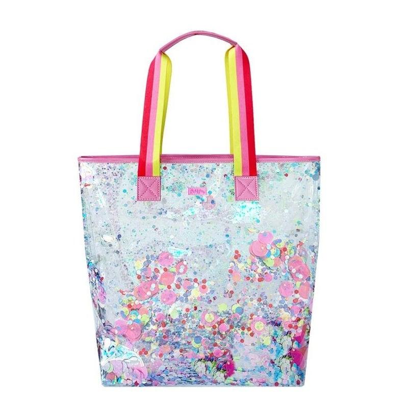 Electric Dream Confetti Bucket Bag