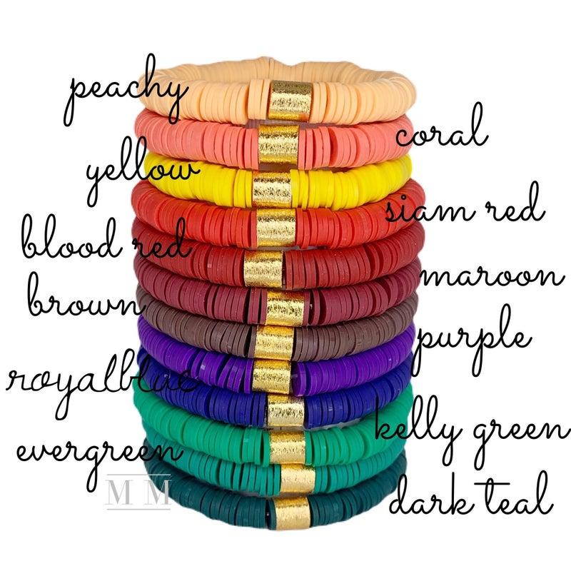 Color Pop Bracelets - 7 Colors! *Final Sale*