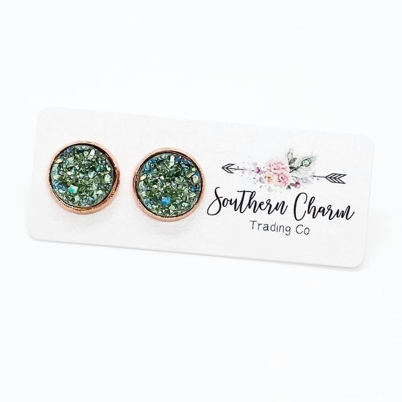 Fall Sparkles in Rose Gold Settings- 3 Colors! *Final Sale*