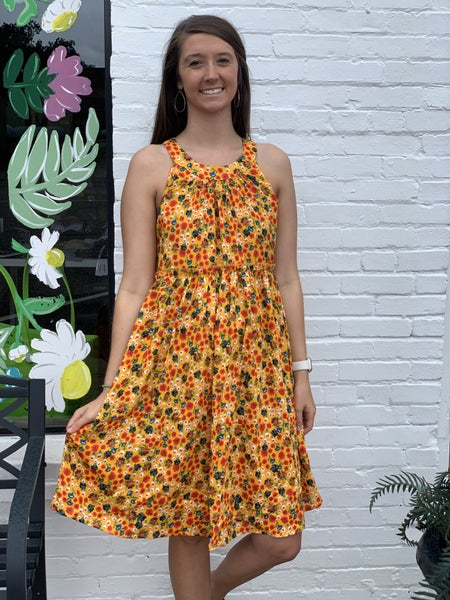 More About Me Floral Dress