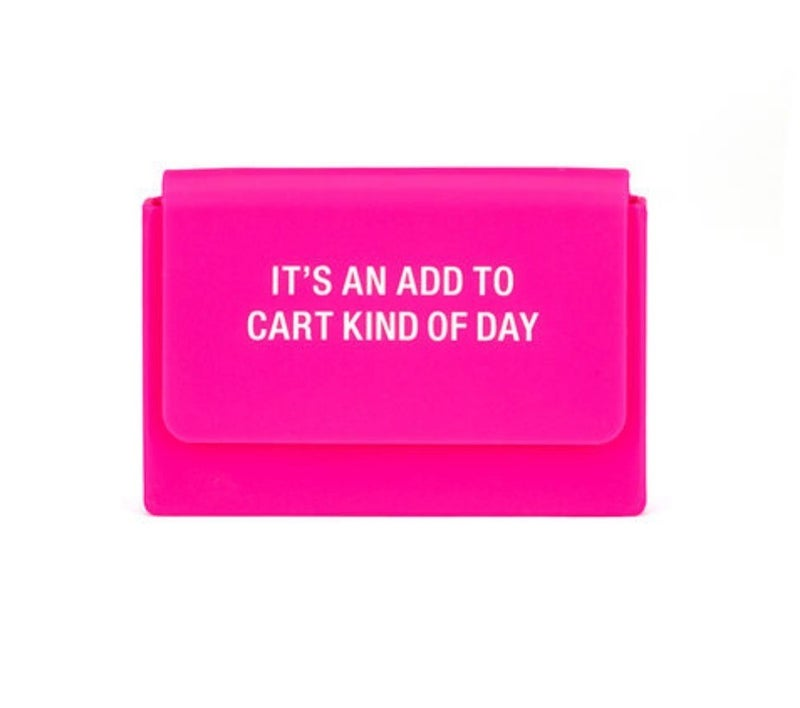 Add To Cart Silicone Card Case