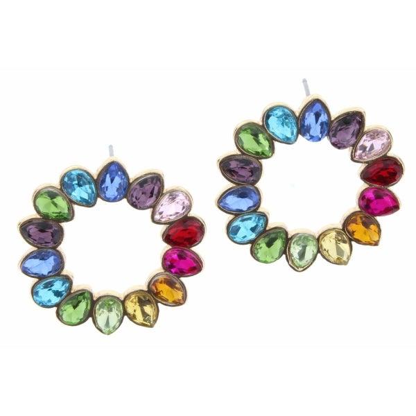 Colorful Pendant Earrings