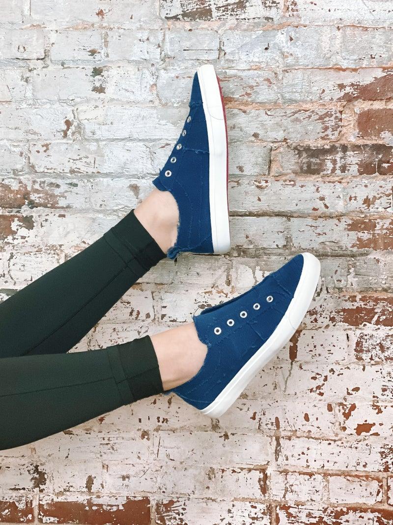 Corkys Babalu Sneaker-Navy