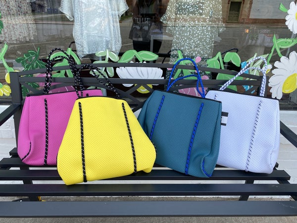 The BEST Neoprene Totes! *6 colors*