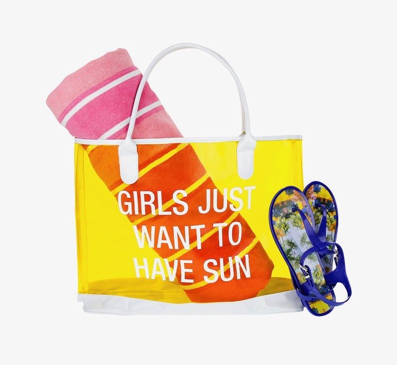 Girls Just Want to have Sun Beach Bag