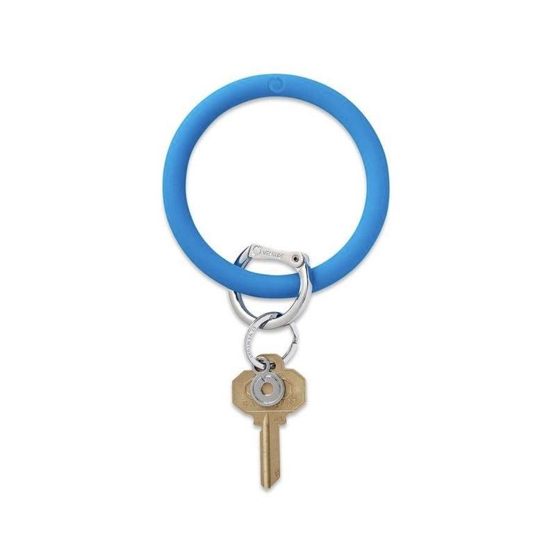 Silicone Big O Key Ring *Peacock*