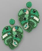Keep Palm And Carry On Earrings