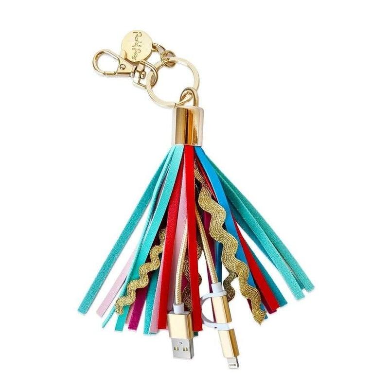 Sweet Treat Tassel Charging Keychain