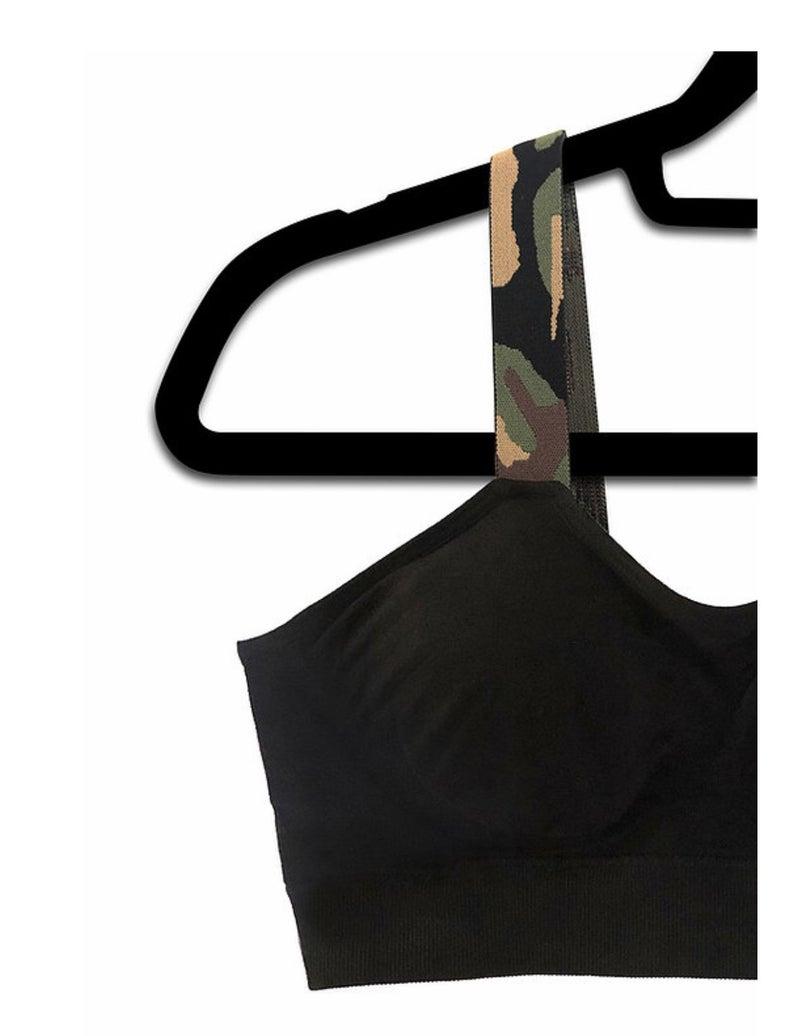 Reg + Curvy Strap-Its Black With Camo