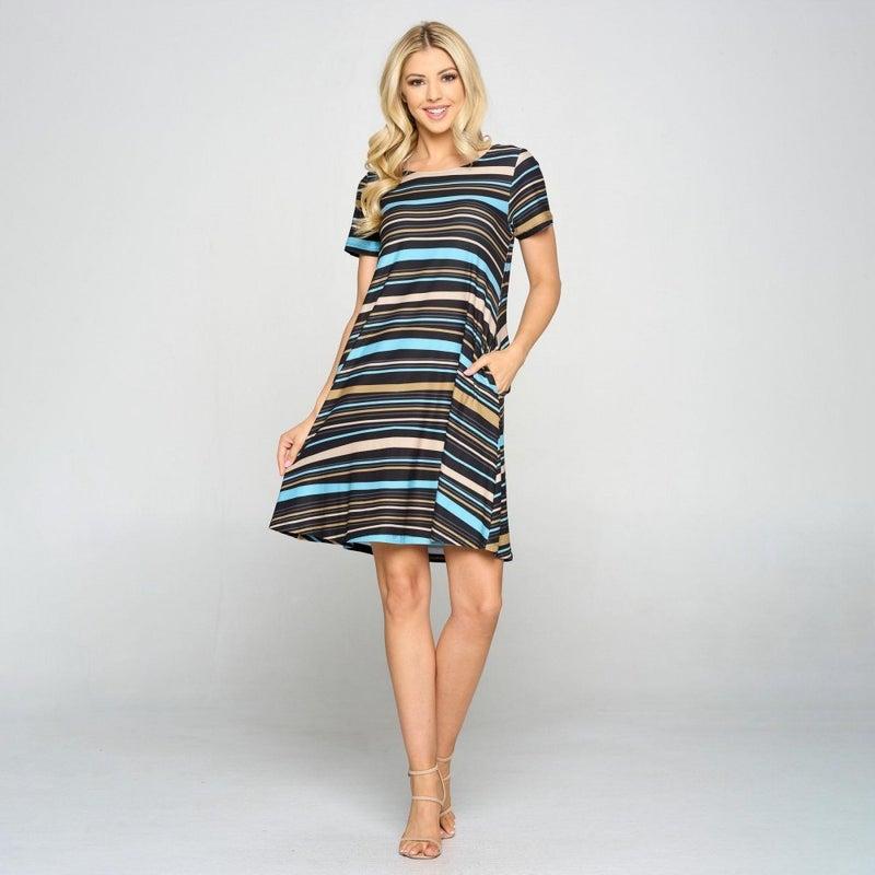 Show Your Stripes Dress