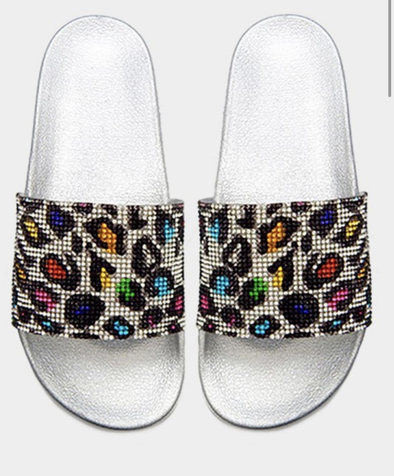 All Things Shiny Sandals