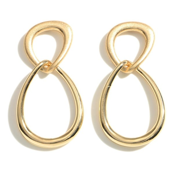 Together In Gold Earrings
