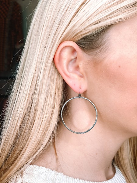 Love, Poppy Hoop Earrings *Final Sale*