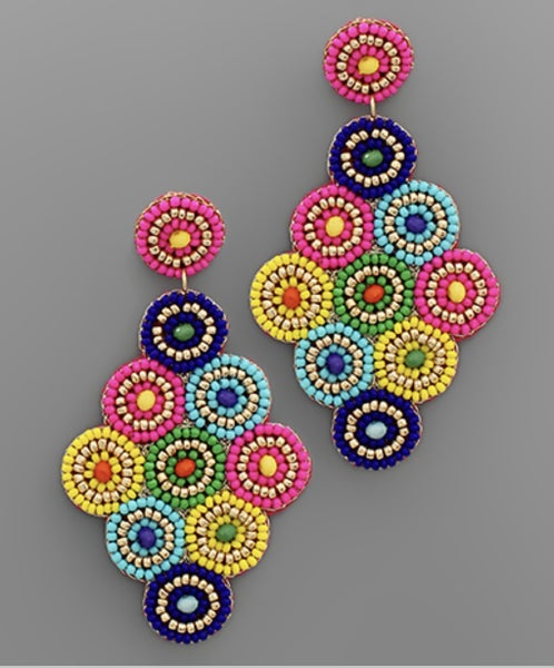 Color Combo Earrings