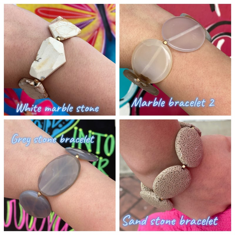 Love, Poppy Stone Bracelets *Final Sale*