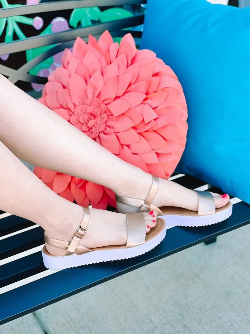 Let's Get Away Sandals *Pierre Dumas*