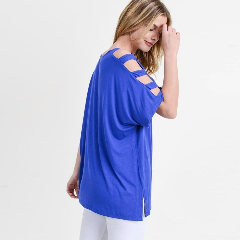 It's The Sleeves For Me Top