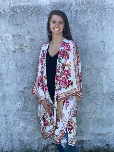 Full Of Bloom Kimono