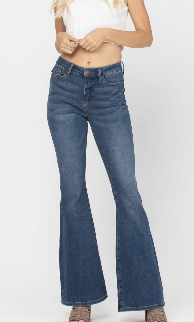 Judy Blue High-Rise Diva Flares