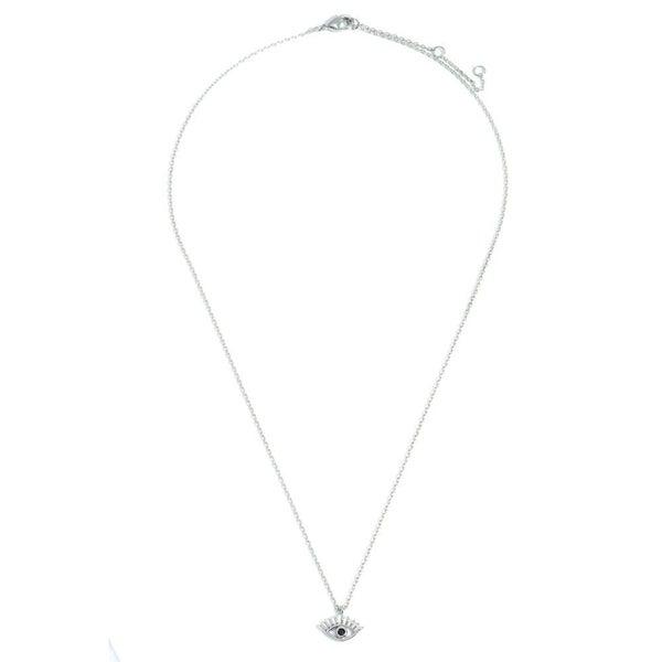 Eye Love It Necklace *Silver*